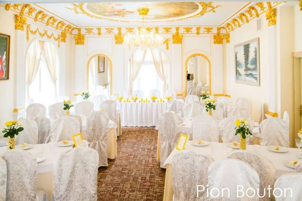 лимонное оформление свадьбы