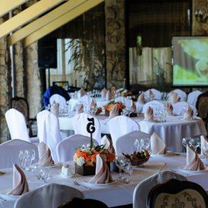 столы гостей ресторан Вышеград