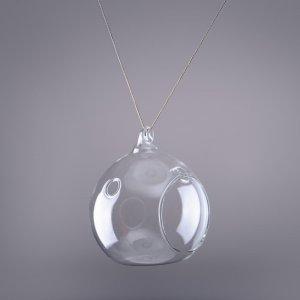 подвесной стеклянный фонарик шар
