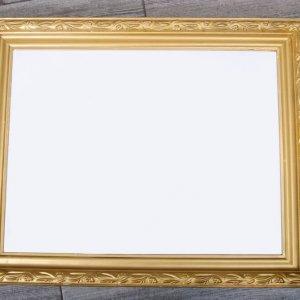 рамка для карты рассадки золотая