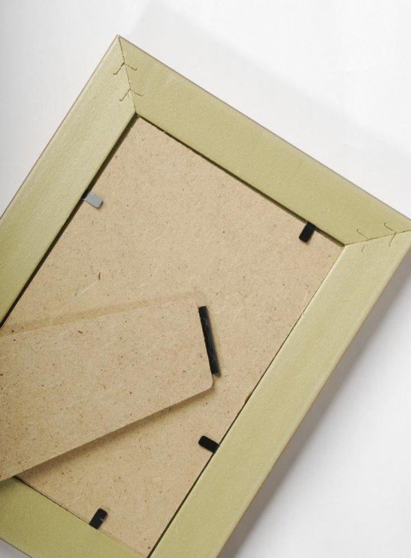 Тыльная сторона рамки для нумерации столов.
