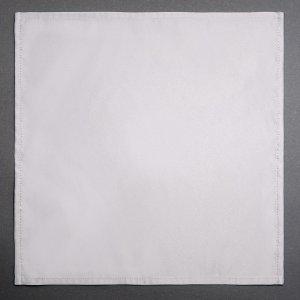 Текстильная квадратная салфетка для праздничного стола серого цвета в аренду