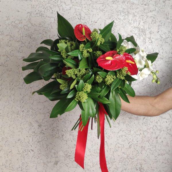 Тропический букет на подарок